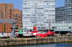 Canning Dock, Liverpool. Stock Photography