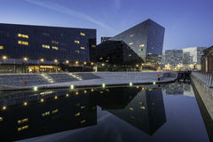 Canning dock on Liverpools waterfront Royalty Free Stock Photography