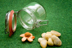 Canning jar Royalty Free Stock Images