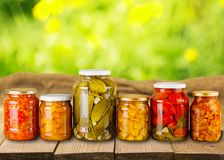 Canning Royalty Free Stock Image