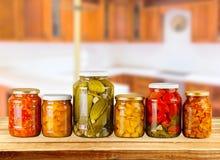 Canning Jar Food Royalty Free Stock Photos