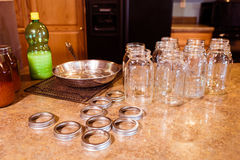 Canning supplies Royalty Free Stock Photo