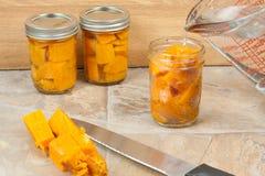 Canning Sweat Potatoes Stock Image