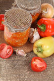 Canning vegetables Royalty Free Stock Photography
