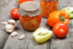 Canning vegetables Stock Photos