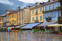 Cannobio-Italia Fotos de archivo