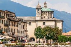 Cannobio, Italy, August 01, 2012: Sanctuary della Pieta Royalty Free Stock Images
