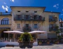 Cannobio - Lago Maggiore, Verbania, Piemont, Itália Fotos de Stock Royalty Free