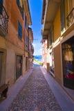 Cannobio - Lago Maggiore, Verbania, Piemont, Itália Foto de Stock Royalty Free