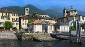 Cannobio - Lago Maggiore, Verbania, Piemont, Itália Fotografia de Stock