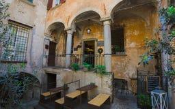 Cannobio - Lago Maggiore, Verbania, Piemont, Itália Imagem de Stock