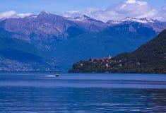 Cannobio - Lago Maggiore, Verbania, Piemont, Italië Stock Fotografie