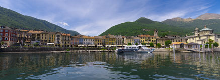Cannobio - Lago Maggiore, Verbania, Piemont, Italie Image libre de droits