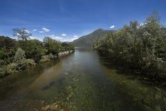 Cannobio - Lago Maggiore, Verbania, Piemont, Italie Photographie stock libre de droits