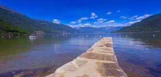 Cannobio - Lago Maggiore, Verbania, Piemont, Italie Images stock
