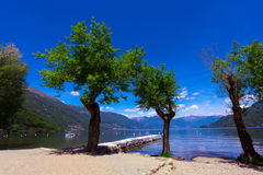 Cannobio - Lago Maggiore, Verbania, Piemont, Italy Royalty Free Stock Photo