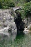 Cannobio rzeka Obrazy Royalty Free