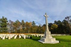 Cannock pościg wojny cmentarz Zdjęcia Royalty Free