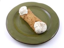 Cannoli Fotografie Stock