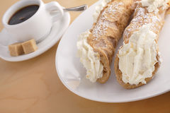 Cannoli Stock Photo