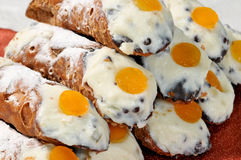 Cannoli de Sicilia Fotos de Stock