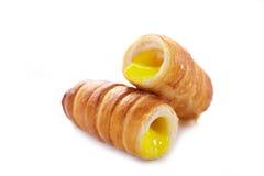 Cannoli italian pastry Stock Photography