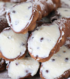 Cannoli Siciliani stockbild