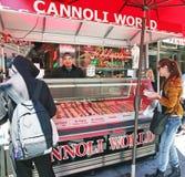 Cannoli-Welt Lizenzfreies Stockfoto