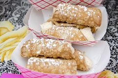 Cannolis Royalty Free Stock Photos