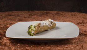 Cannolo alla siciliana Stock Photography