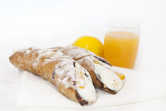 Cannolo siciliano Royalty Free Stock Photos