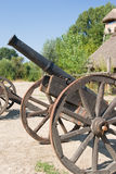 Cannon. The old cossack's field cannon Stock Image