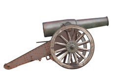 Cannon. Old cannon artillery gun weapon royalty free stock photo