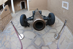 Cannon in Al-Masmak, Riyadh, Saudi Arabia Royalty Free Stock Images