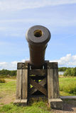 Cannon in Aland Islands. Stock Photos