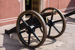 Cannon Artillery in Museum Royalty Free Stock Images