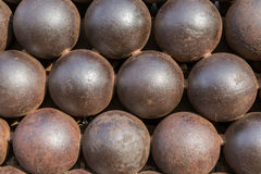 Cannon Balls Stock Images