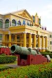 Cannon bangkok    architecture  garden steet Royalty Free Stock Photos