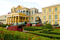 Cannon bangkok in thailand   flag Stock Images