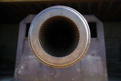 Cannon barrel Royalty Free Stock Image