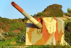 Cannon Battery Royalty Free Stock Image