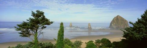 Cannon Beach. In Oregon Pacific Stock Photo