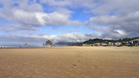 Cannon Beach. Chic ocean beach Royalty Free Stock Photo