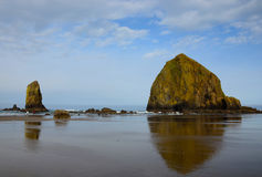 Cannon Beach in the Morning Stock Photography