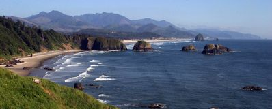 Cannon Beach, north Oregon coast Stock Photography