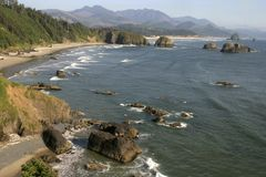 Cannon Beach, north Oregon coast Stock Photo