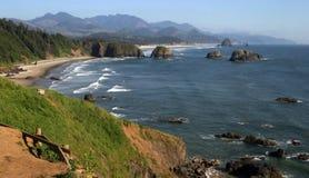 Cannon Beach, north Oregon coast Royalty Free Stock Image