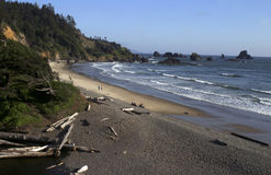Cannon Beach, north Oregon coast Stock Image