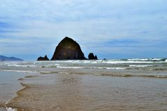 Cannon Beach Oregon Coast Royalty Free Stock Images