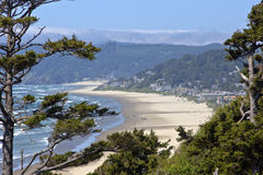 Cannon Beach Oregon coast. Stock Photo